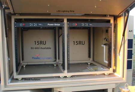 Rack Enclosure Interior - 30U  15U x2 - PUB